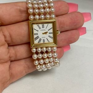 CHANEL 18K Mademoiselle Wristwatch